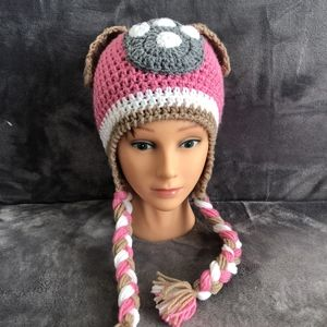 Paw Patrol Inspired Knitted Handmade Hat